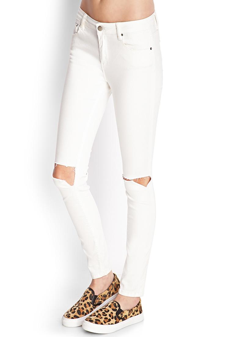 White Skinny Jeans For Women Forever 21