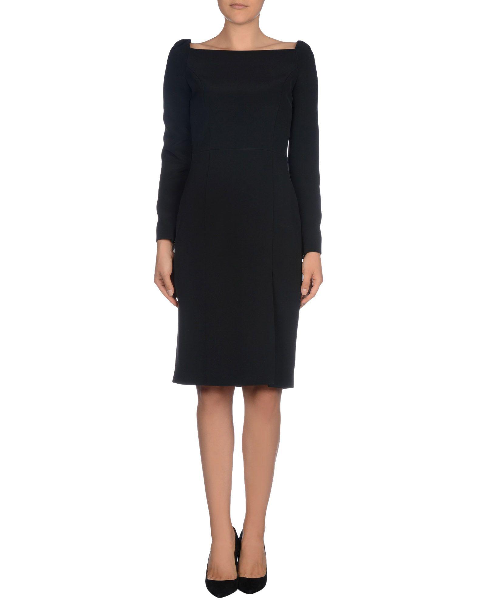 Black Dress Knee Length