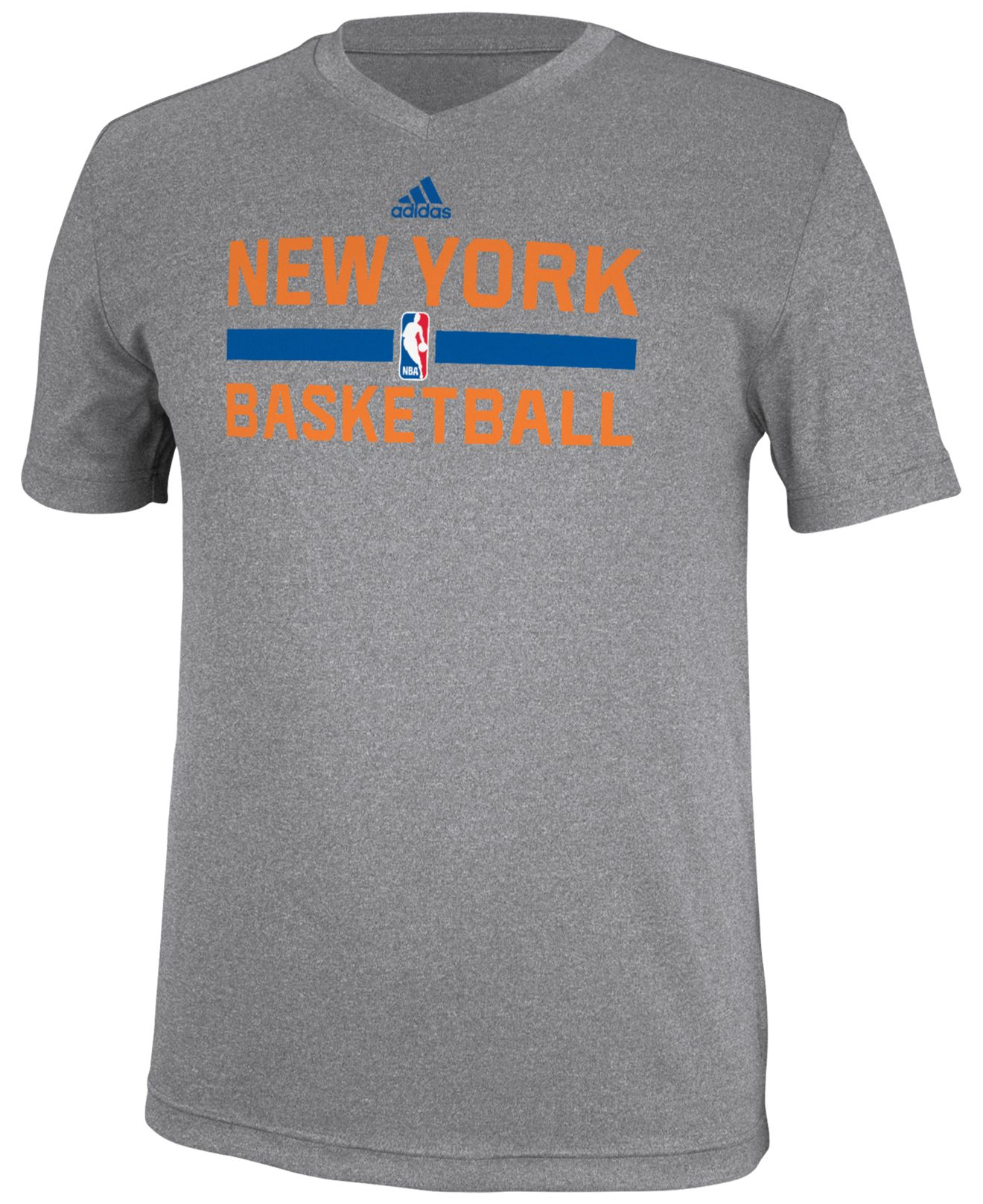 Lyst Adidas Men 39 S New York Knicks Practice Graphic T