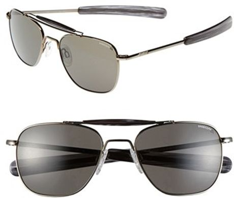 881dcc4494 Randolph Engineering 55mm Aviator Sunglasses