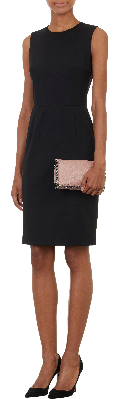 stella mccartney falabella shaggy deer shoulder bag in pink lyst. Black Bedroom Furniture Sets. Home Design Ideas