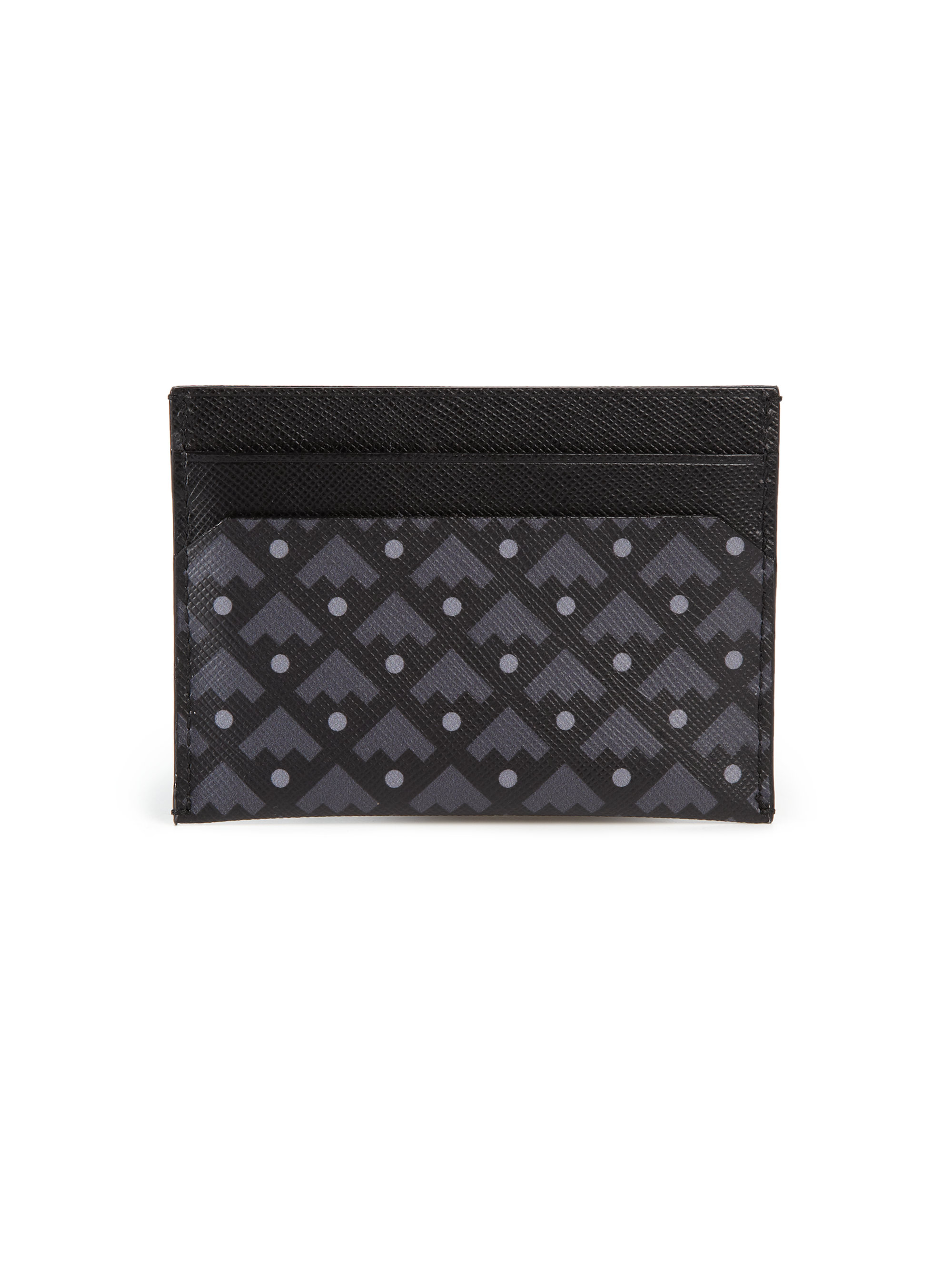 Lyst - Bally Coated Canvas Business Card Holder in Black for Men