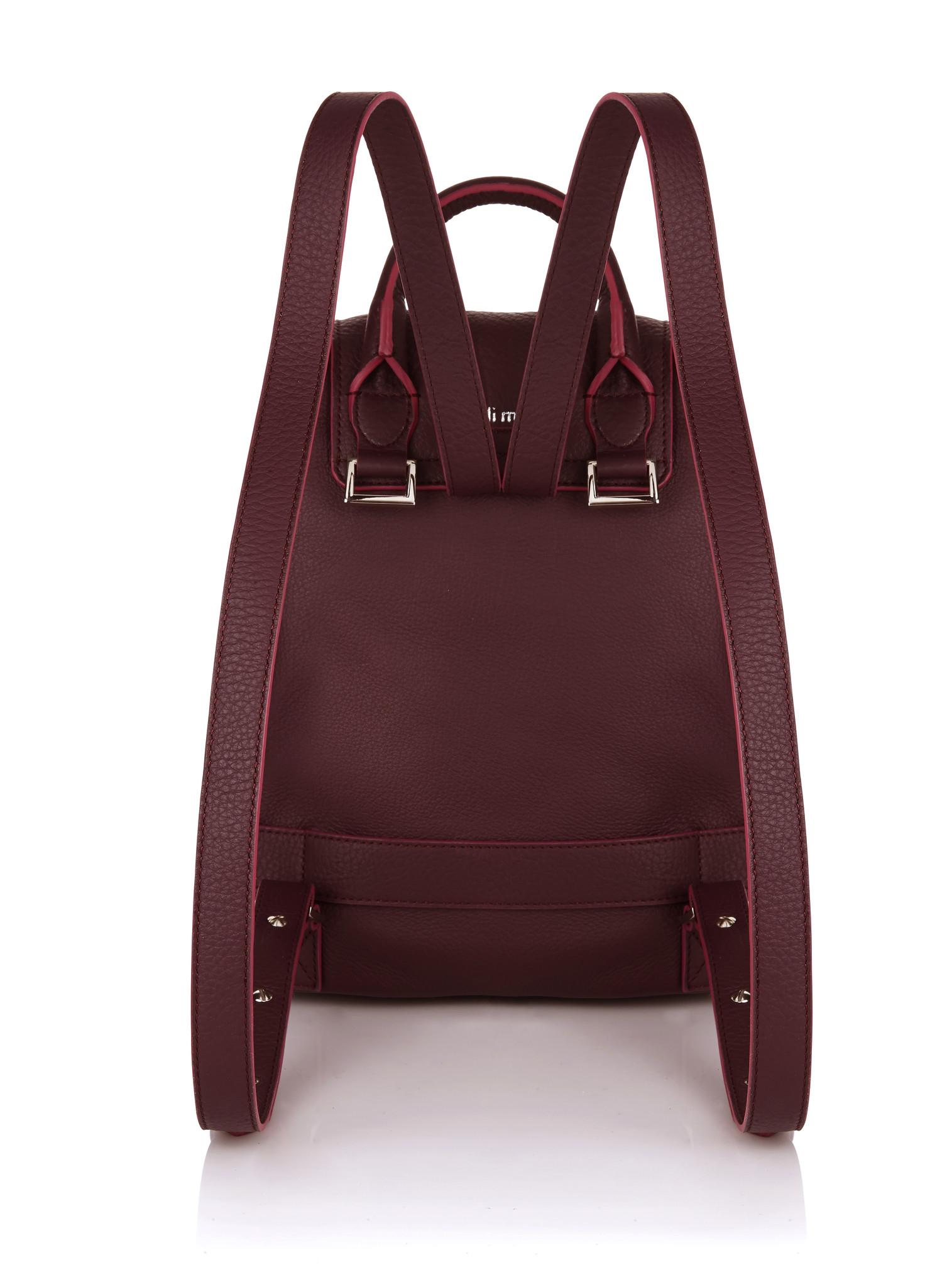Lyst - meli melo Backpack Mini In Burgundy in Red a3cc72b2e0b8b