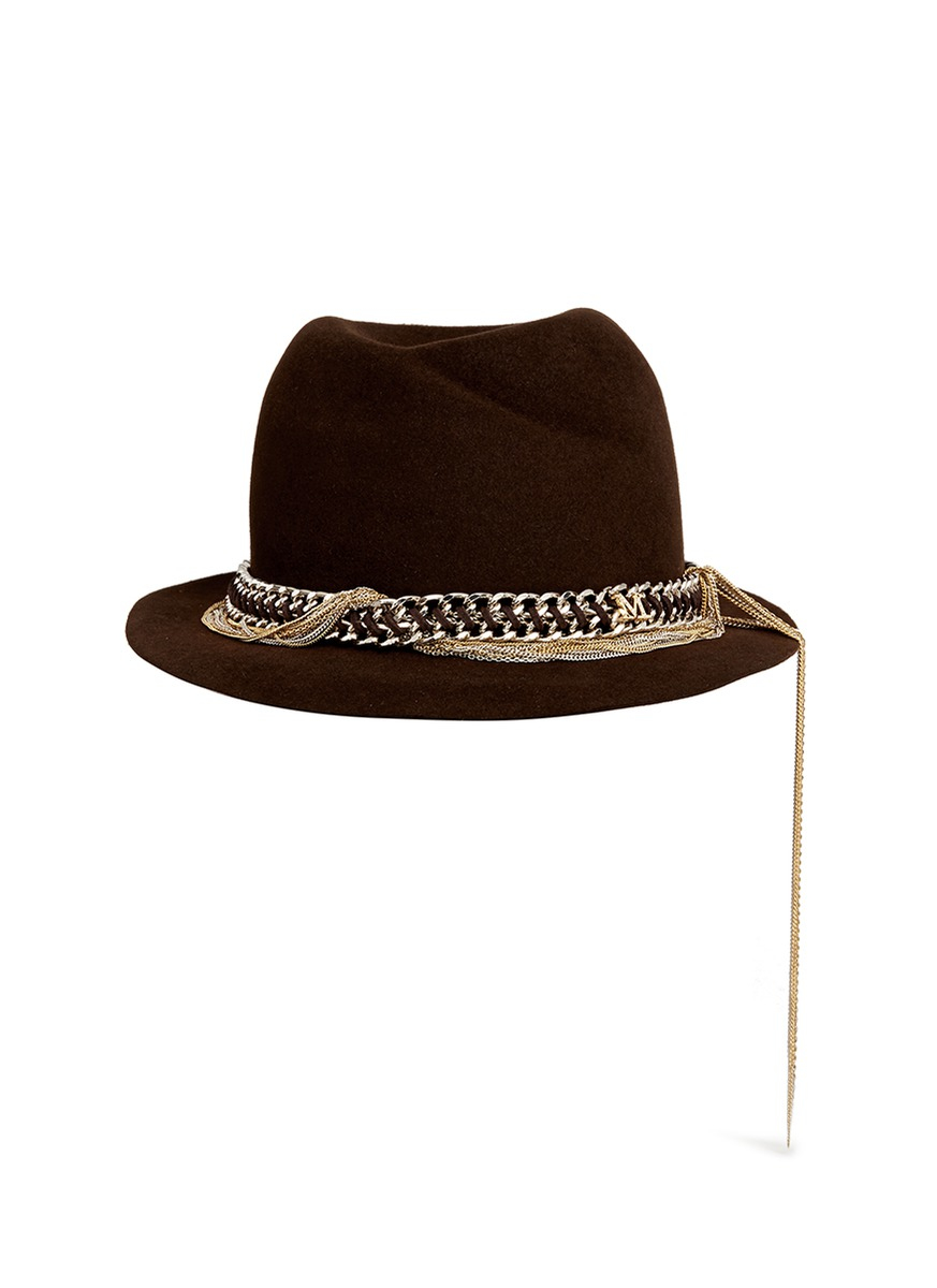 womens felt trilby images