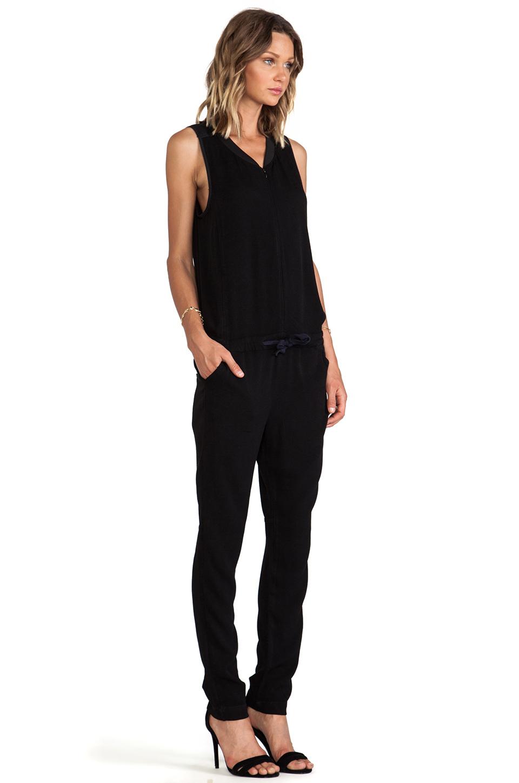 g star raw upmarsh jumpsuit in black lyst. Black Bedroom Furniture Sets. Home Design Ideas