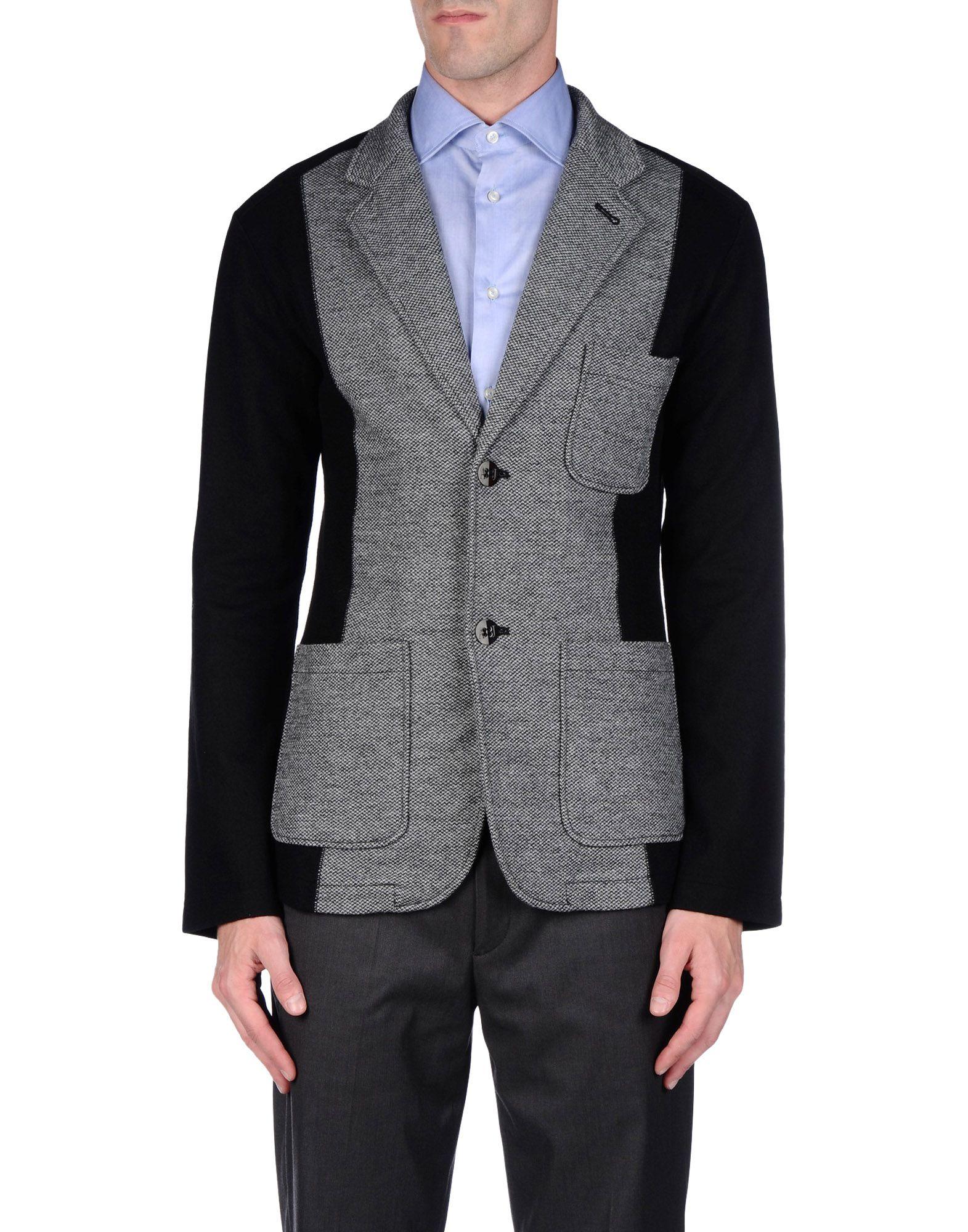 Armani Jeans Blazer In Gray For Men Lyst