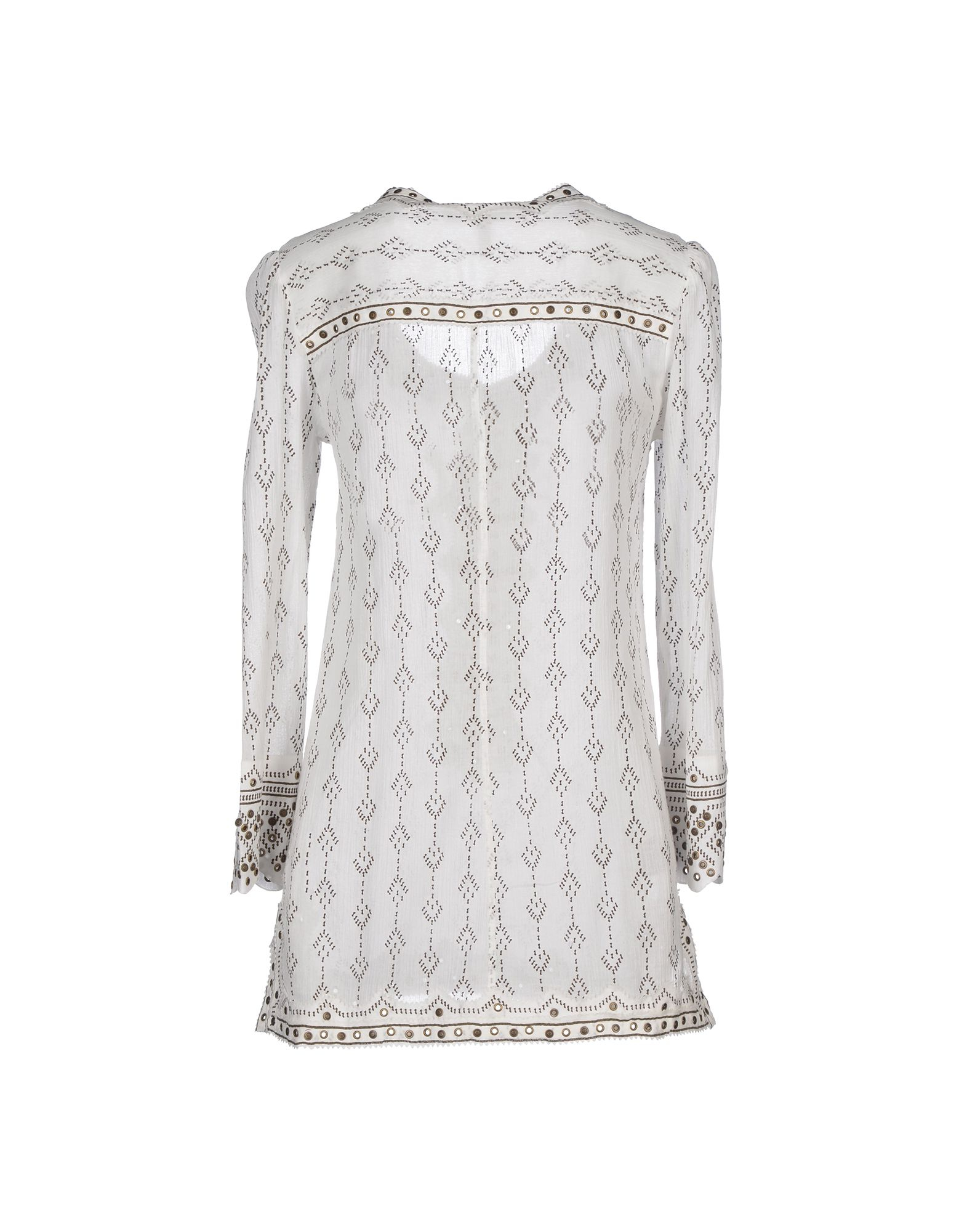 Isabel Marant Alicia Lace Up Front Blouse 30
