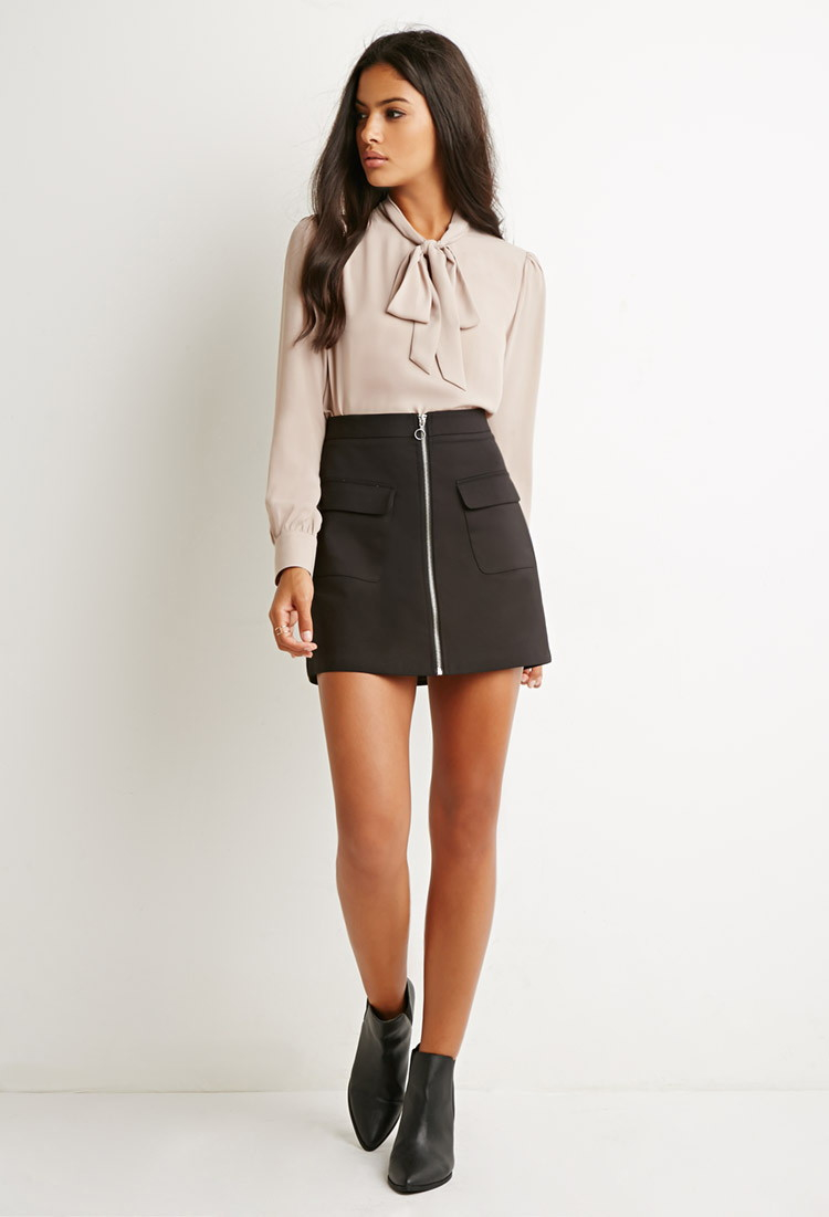 Bow Neck Blouse Forever 21 Anlis