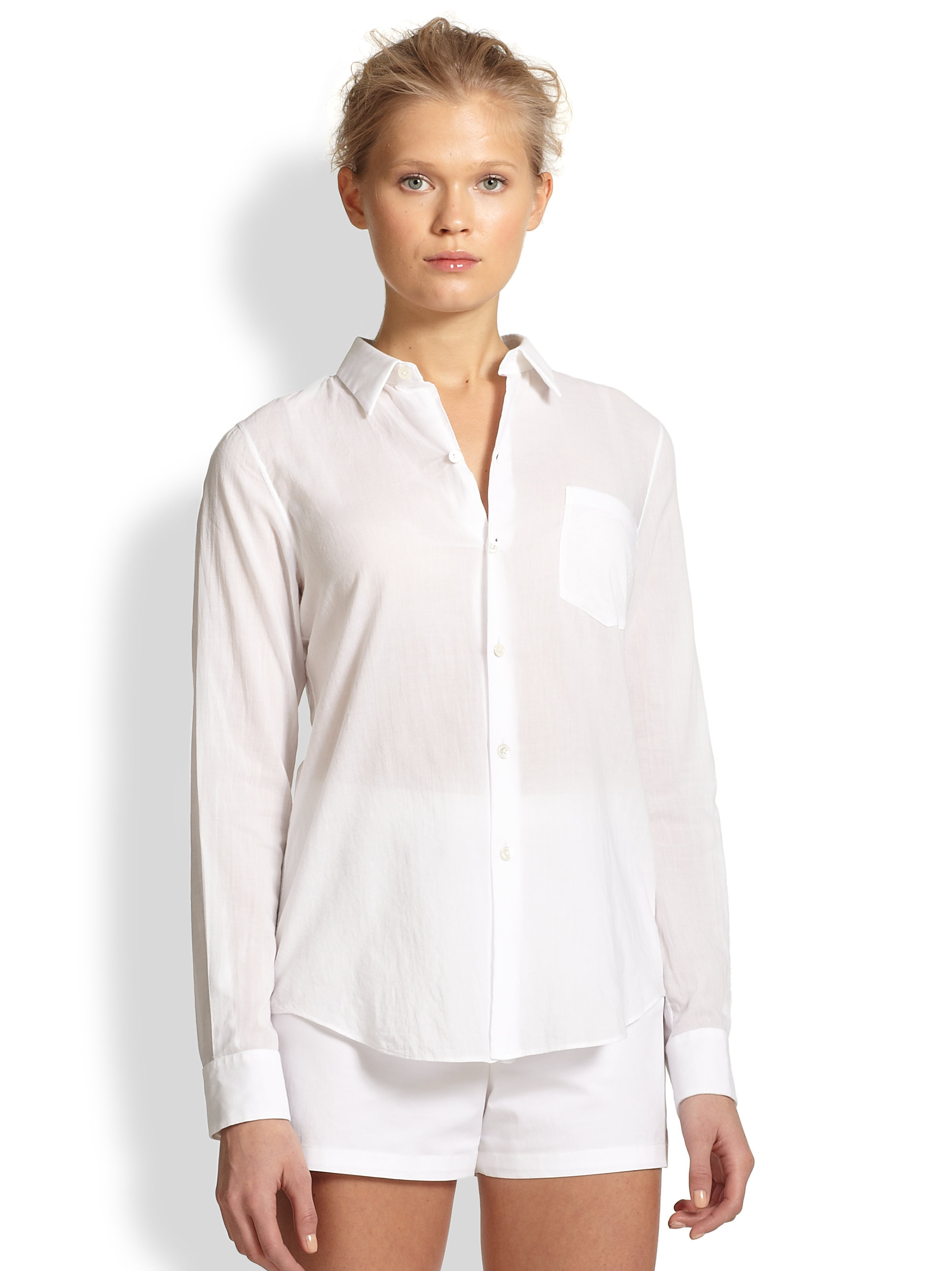 Classic White Blouse Shirt