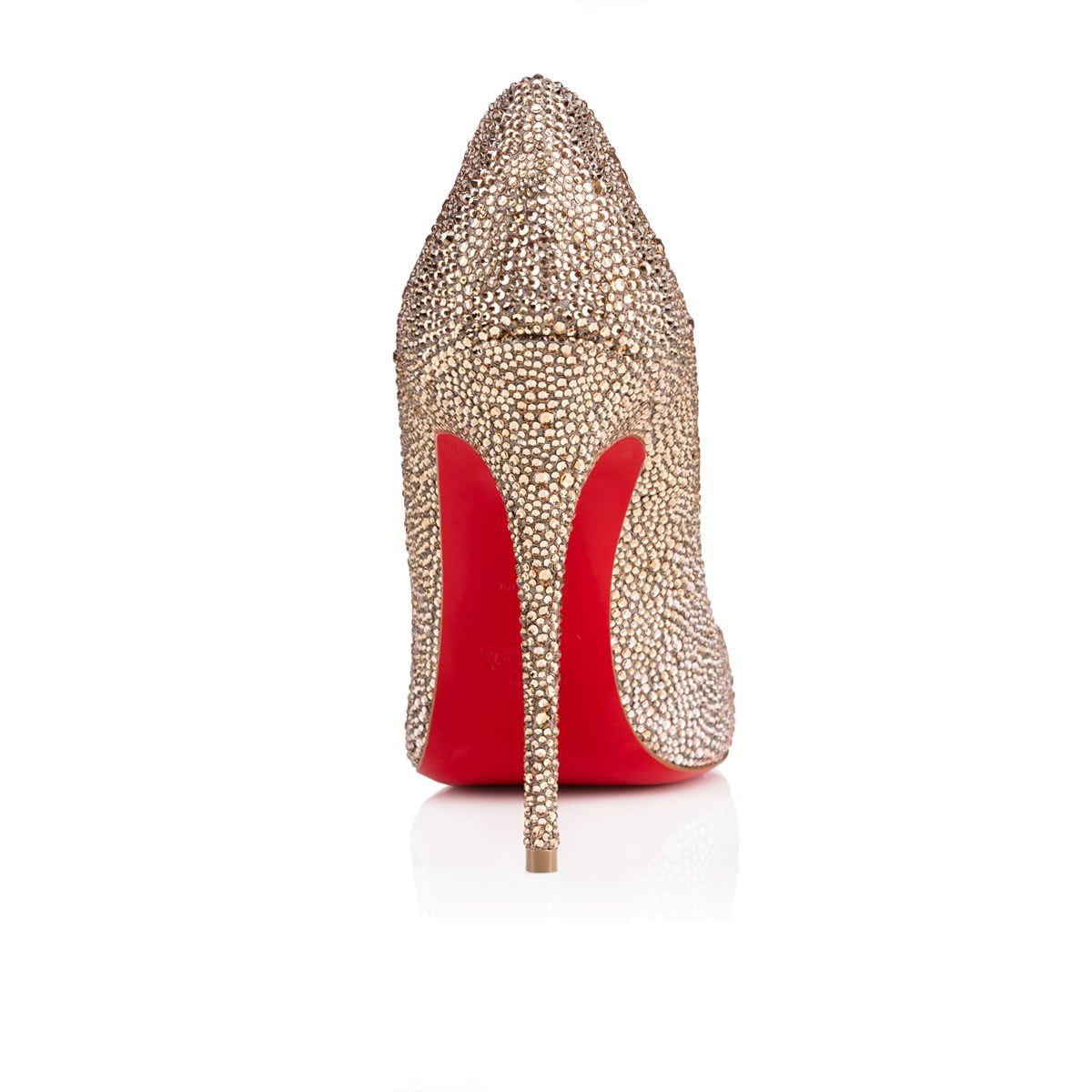 07bccf14759 Lyst - Christian Louboutin So Kate Ombré Crystal Pumps in Red