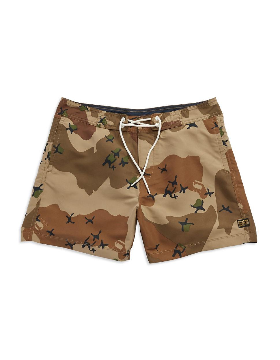 33306160712a Lyst - G-Star Raw Jordan Swim Shorts in Brown for Men