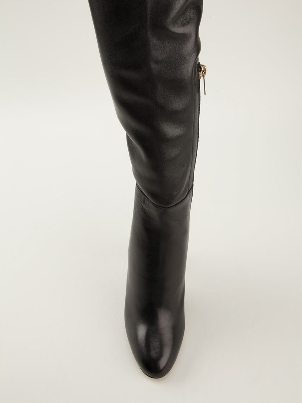 f03382f2b36 Lyst - Jimmy Choo Giselle Over The Knee Boots in Black