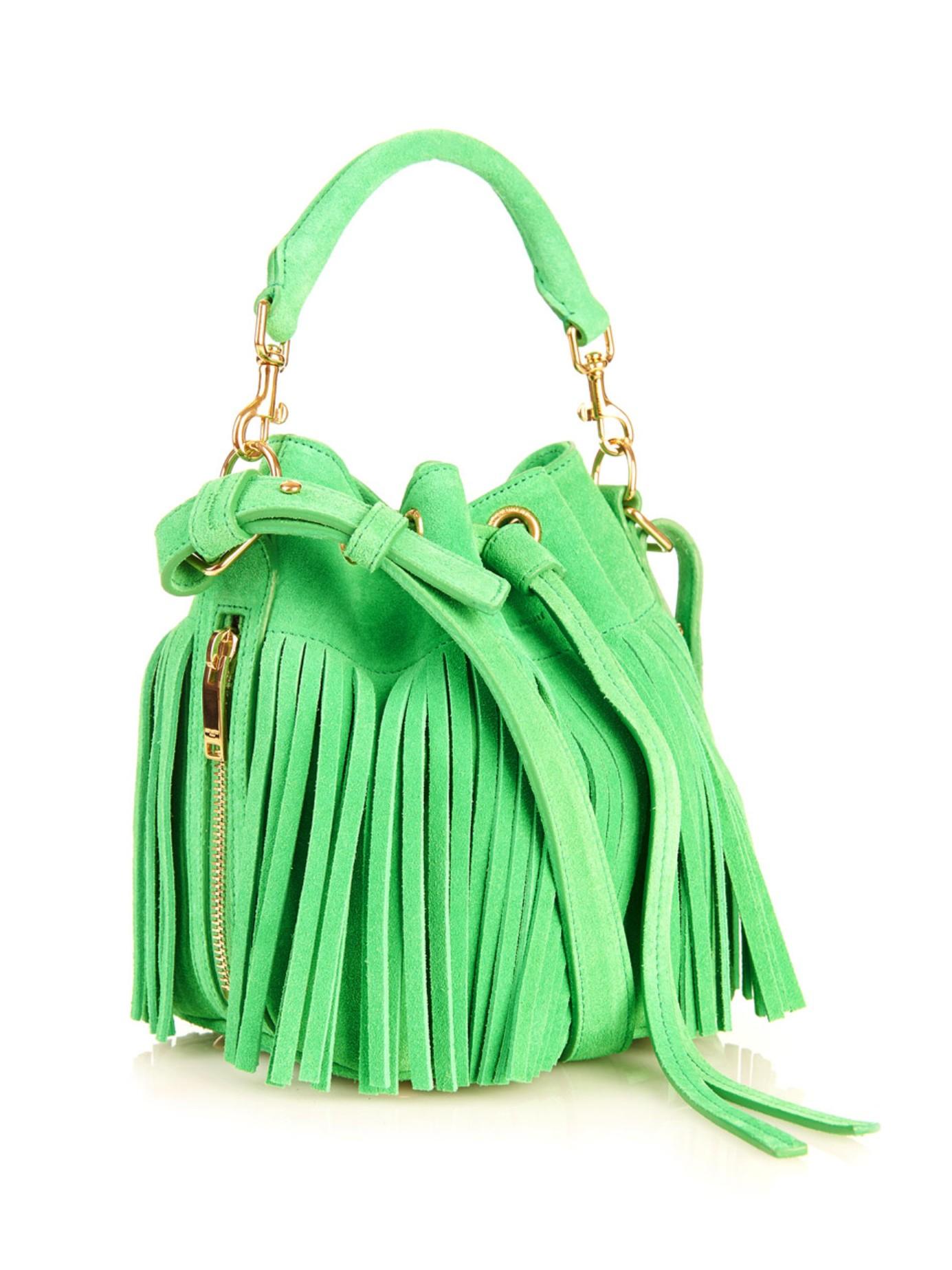 Lyst Saint Laurent Emmanuelle Small Suede Cross Body Bag