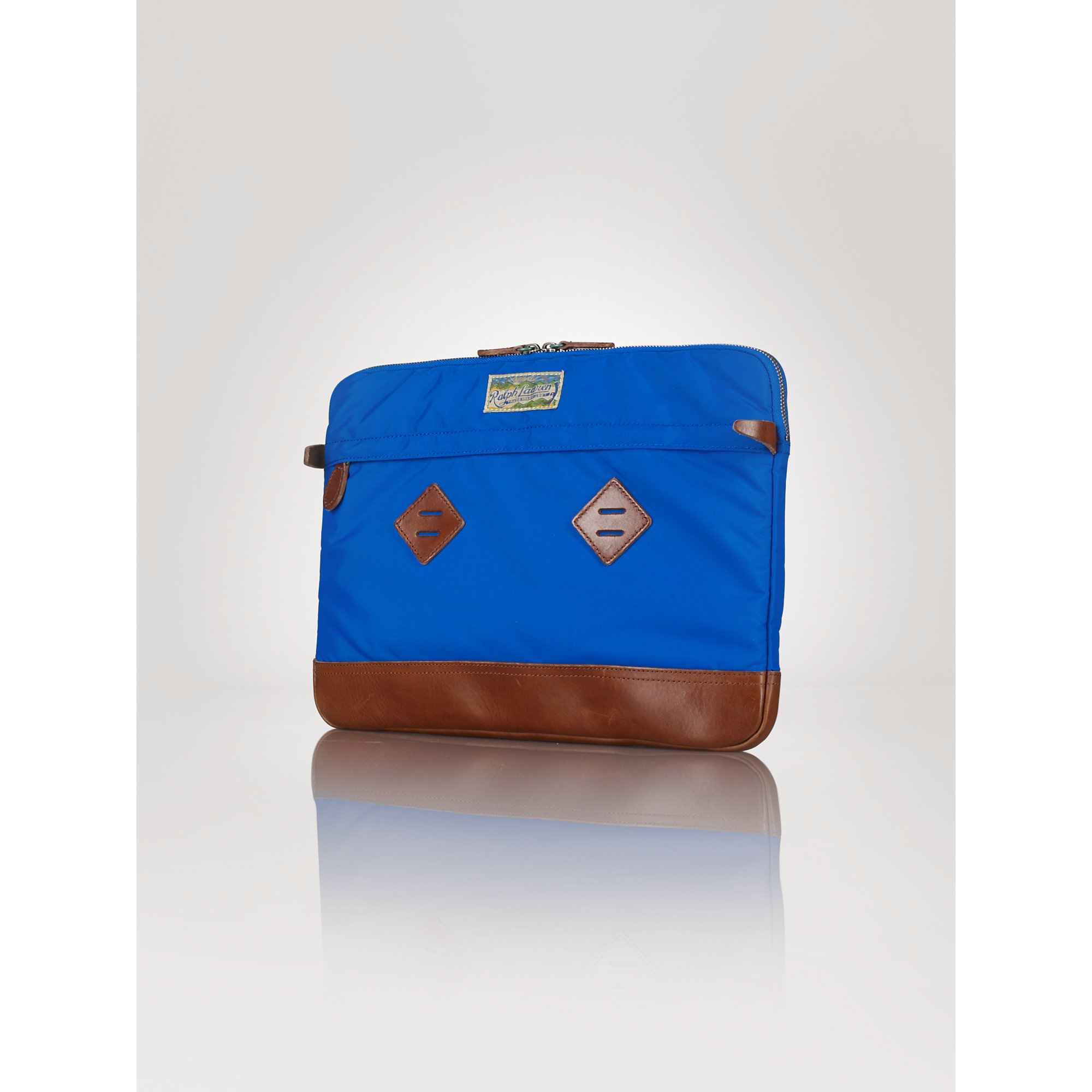 Blue Cotton Nylon Polo 108