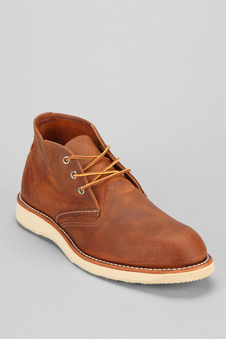 Red wing Work Chukka Boot in Brown for Men | Lyst