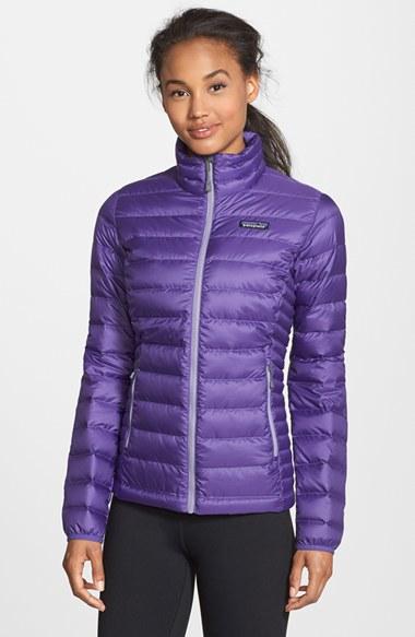 Patagonia Packable Down Sweater Jacket, Purple in Purple | Lyst