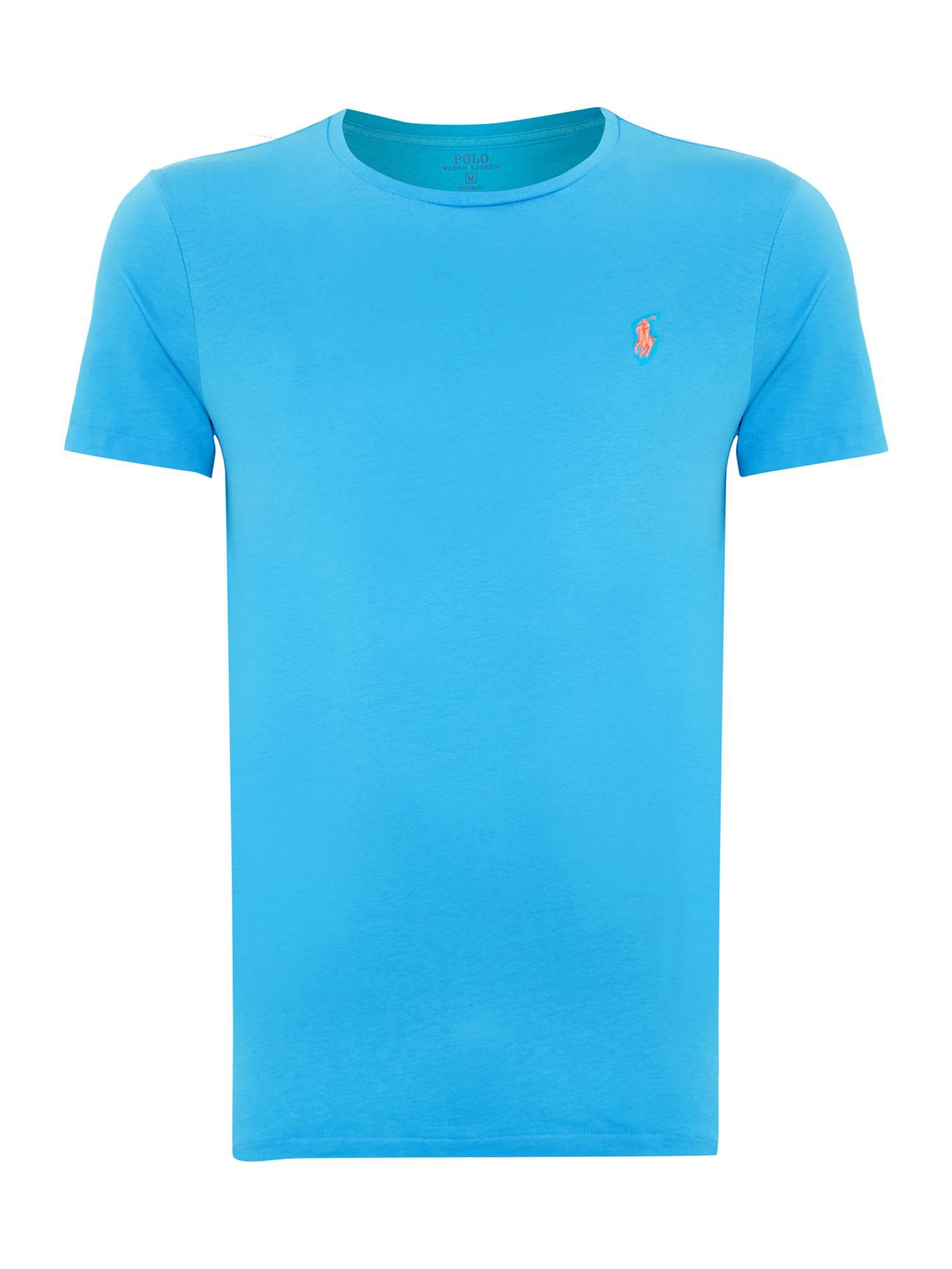 Polo Ralph Lauren Custom Fit Crew Neck Short Sleeve T
