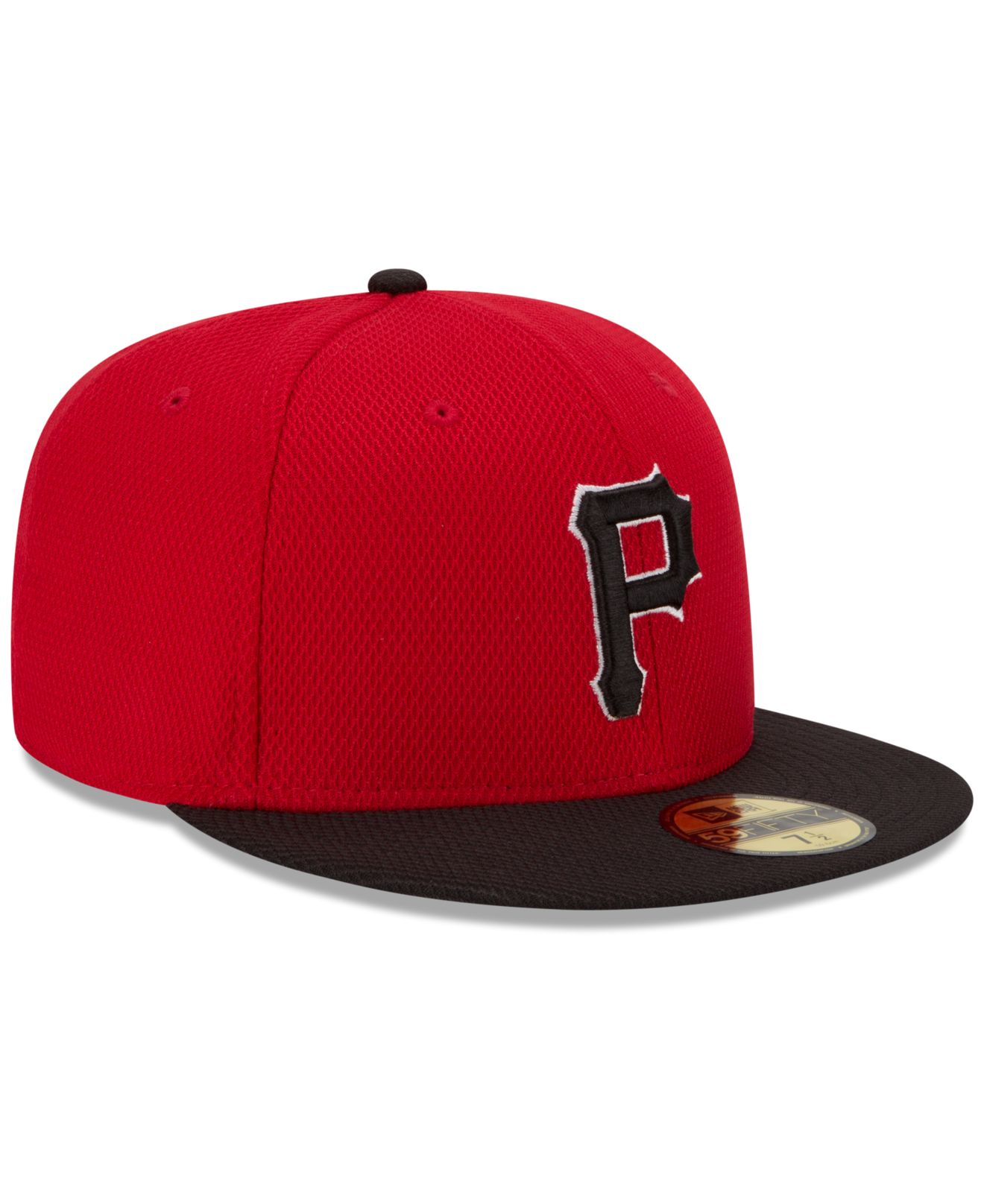 36df0fccf91 ... coupon code lyst ktz pittsburgh pirates 2016 home run derby 59fifty cap  in red b77bd ffcce ...