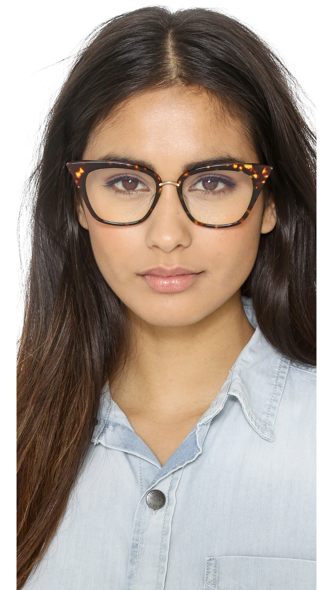 37c2192136b Lyst - DITA Rebella Glasses - Dark Tortoise Gold in Metallic