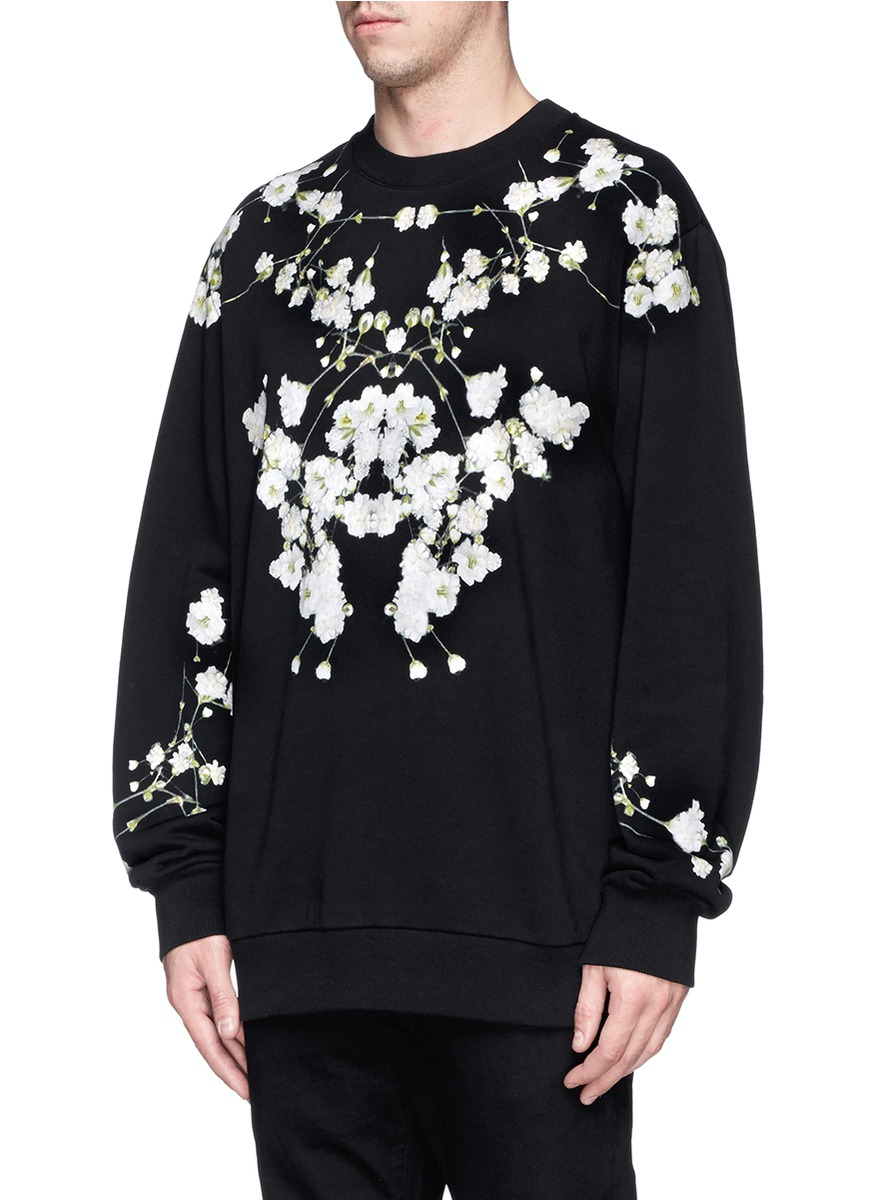 Givenchy Baby's Breath Floral Print