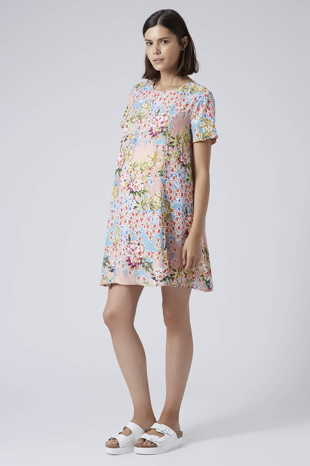 Lyst topshop maternity floral confetti print dress gallery ombrellifo Image collections