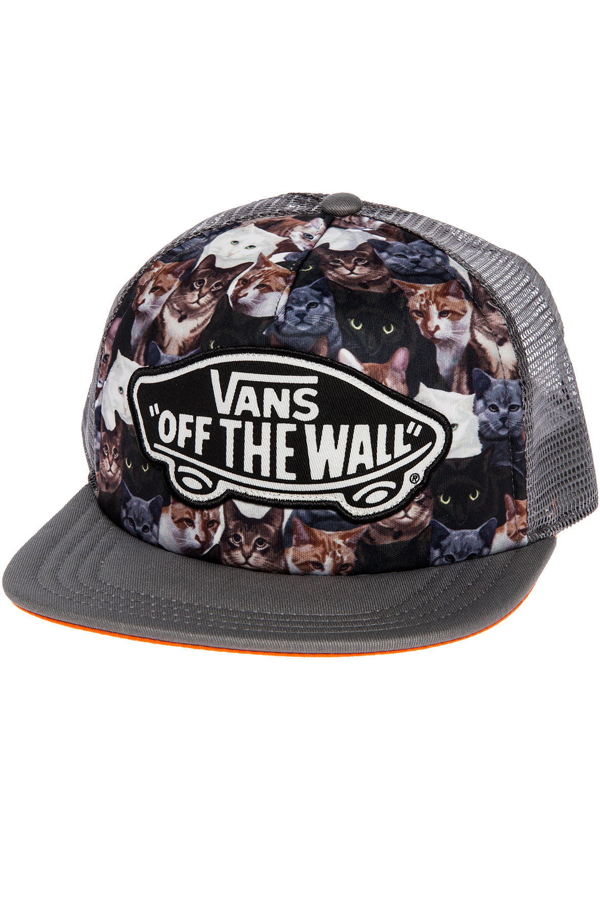 f87c232693a Lyst - Vans The X Aspca Beach Girl Cat Trucker Hat in Gray