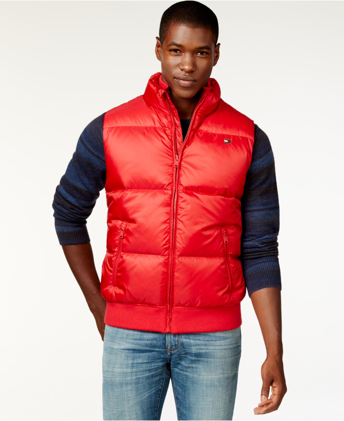 Tommy hilfiger vest puffer vest