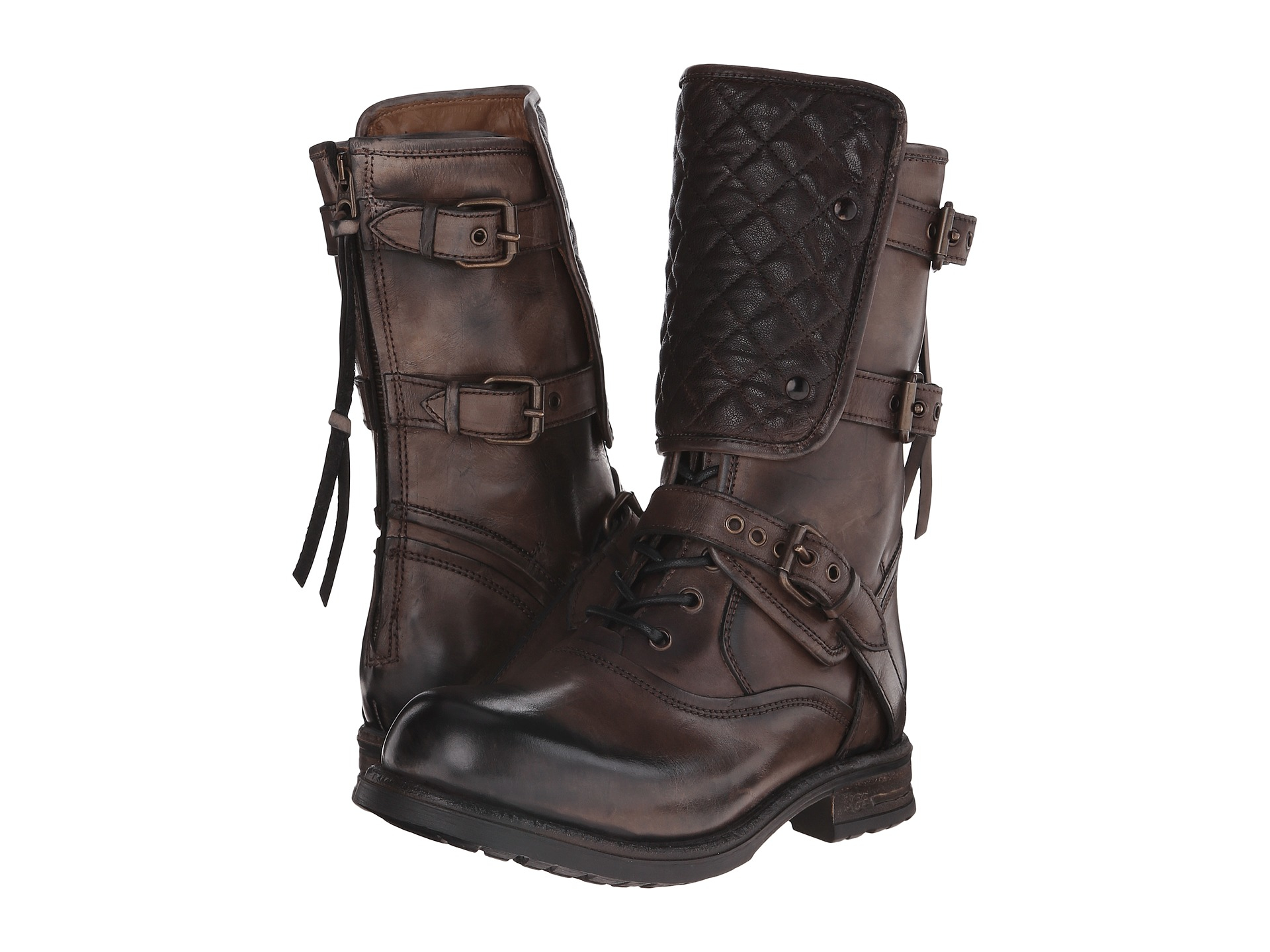 Womens Boots UGG Collection Savona Brown Leather