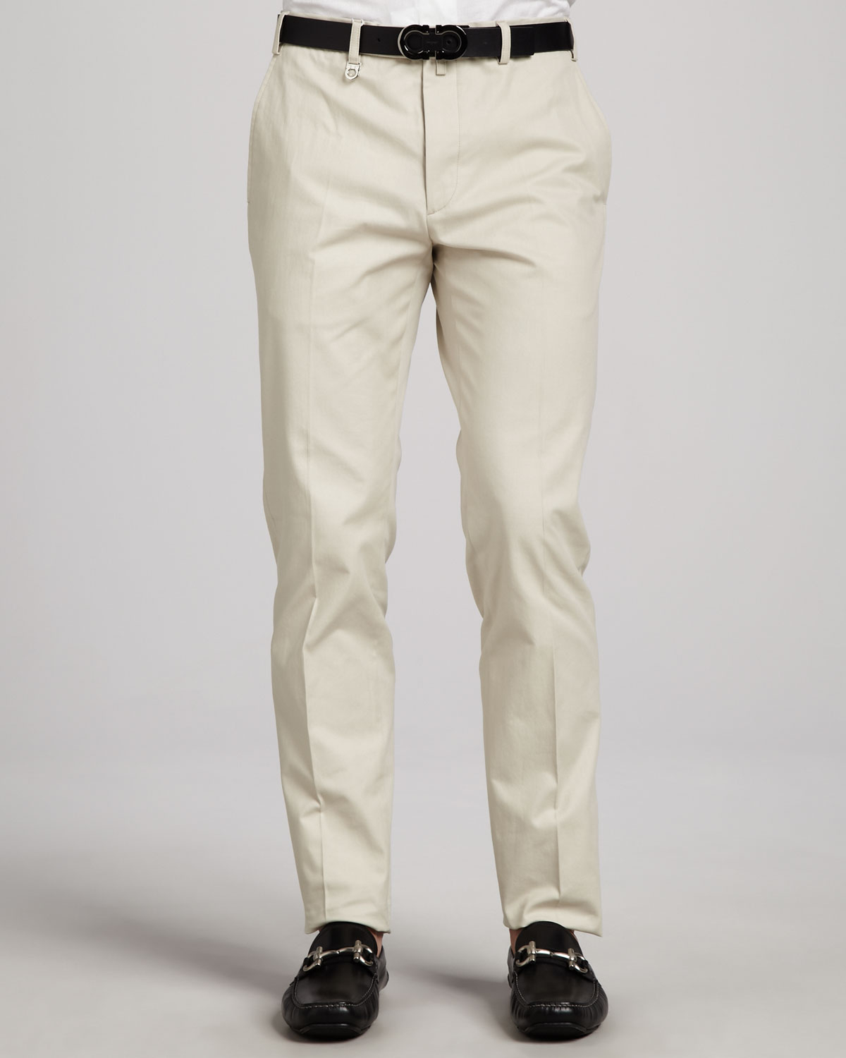 light khaki pants - Pi Pants