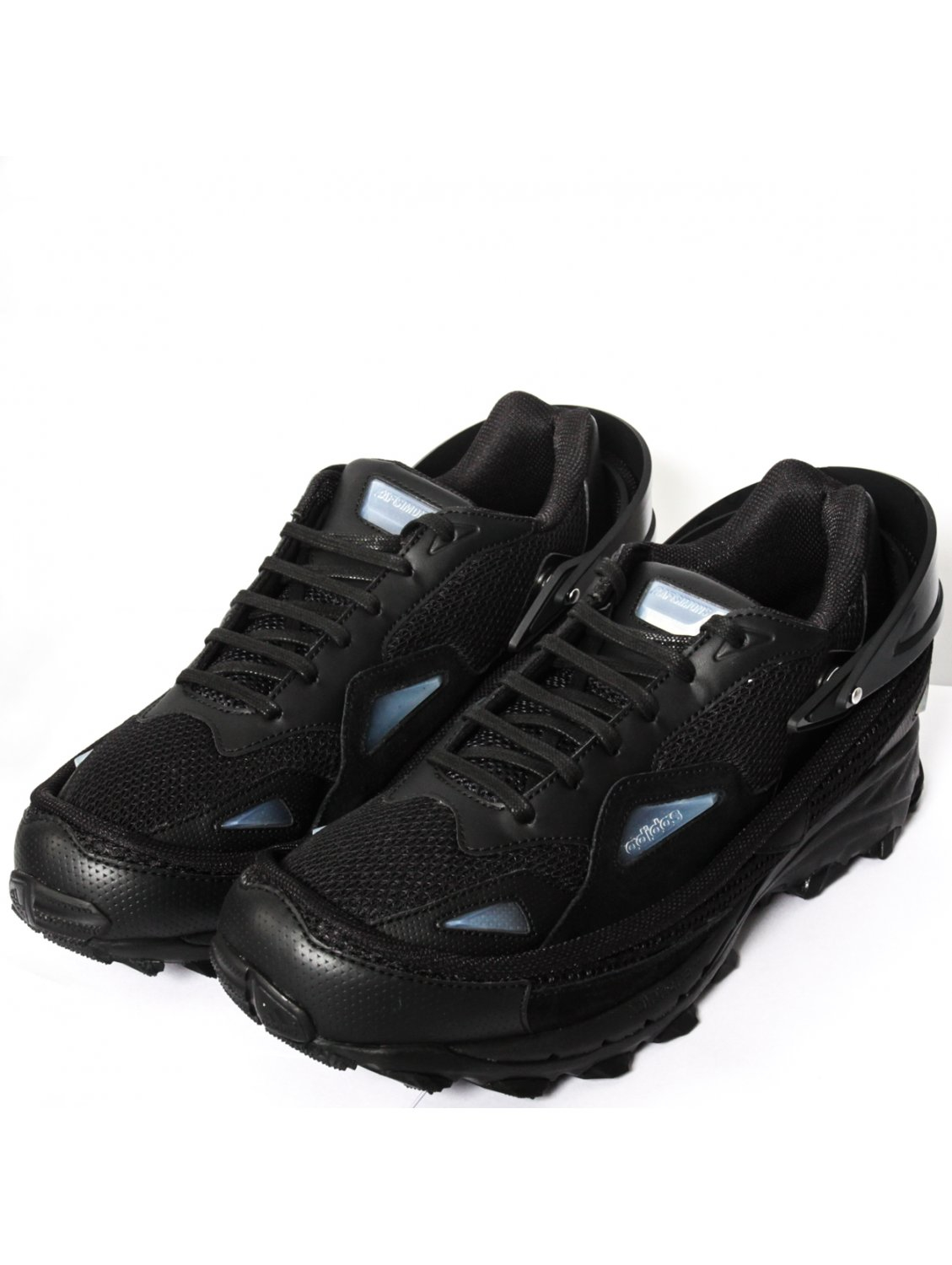 800ef2f03fdb Raf Simons Adidas Response Trail Strap Sneakers Black in Black for ...