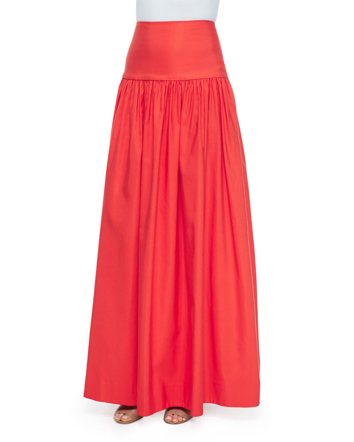musan high waist maxi skirt in lyst