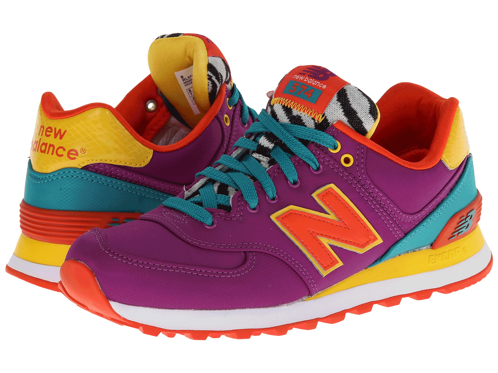 Movimiento viceversa Eso  New Balance Wl574 Pop Safari in Purple '14 (Purple) - Lyst