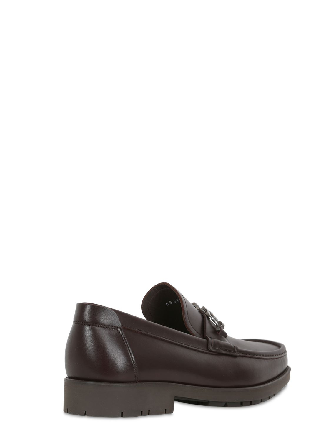 Ferragamo Master Leather Loafers in Brown for Men