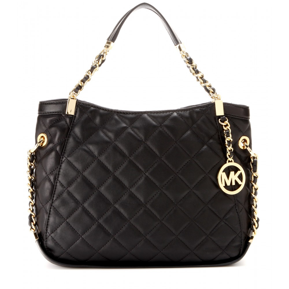 Michael Michael Kors Susannah Quilted Leather Tote In