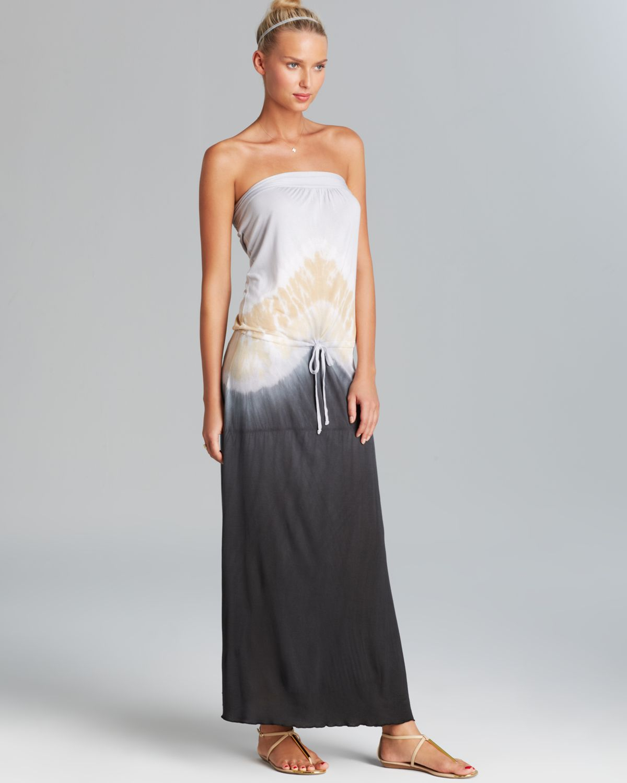 62964715c6 Debbie Katz Appolonia Tie Dye Jersey Maxi Swim Cover Up Dress in ...