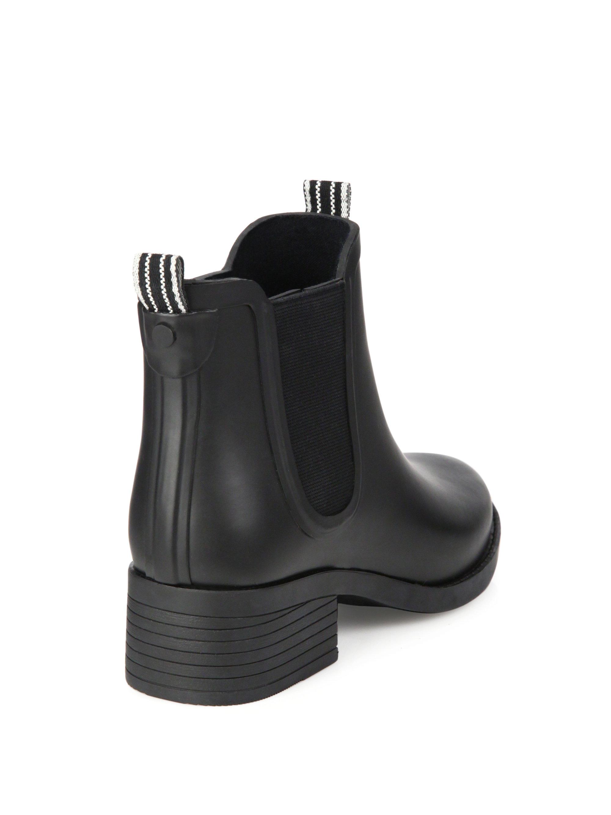 3e6fb652e454 Lyst - Tory Burch Classic Rain Bootie in Black