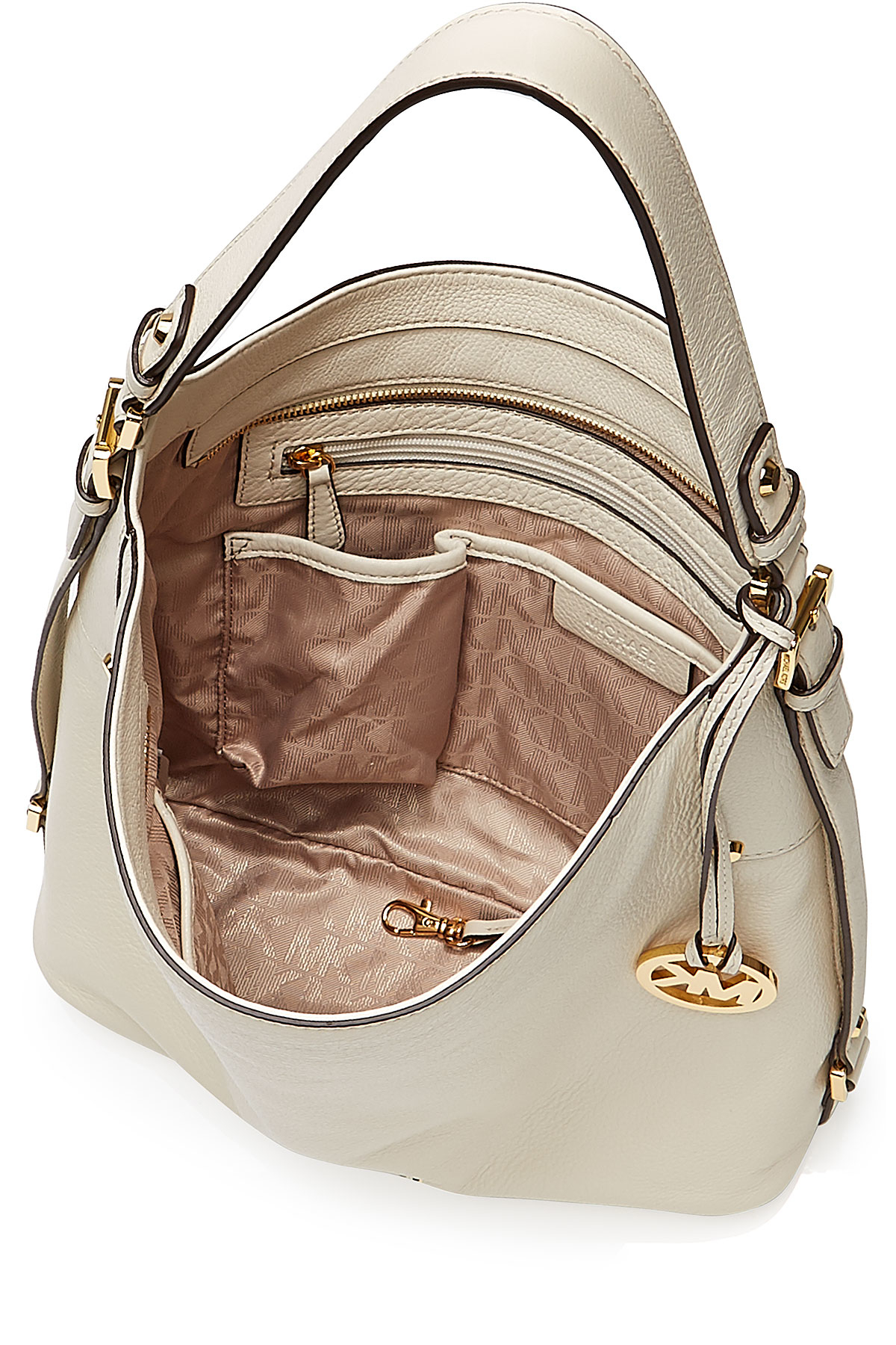 e7ae0bf71d081 Lyst - MICHAEL Michael Kors Bedford Large Leather Shoulder Bag ...