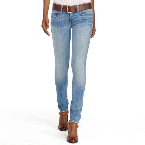 809d13b070 Polo Ralph Lauren Blue Tompkins Skinny Jean