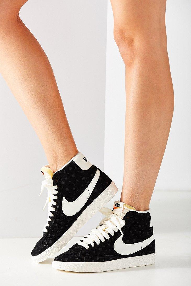 Nike Lyst Vintage Mid Suede Black In Blazer Sneaker Women's drqCvwBr
