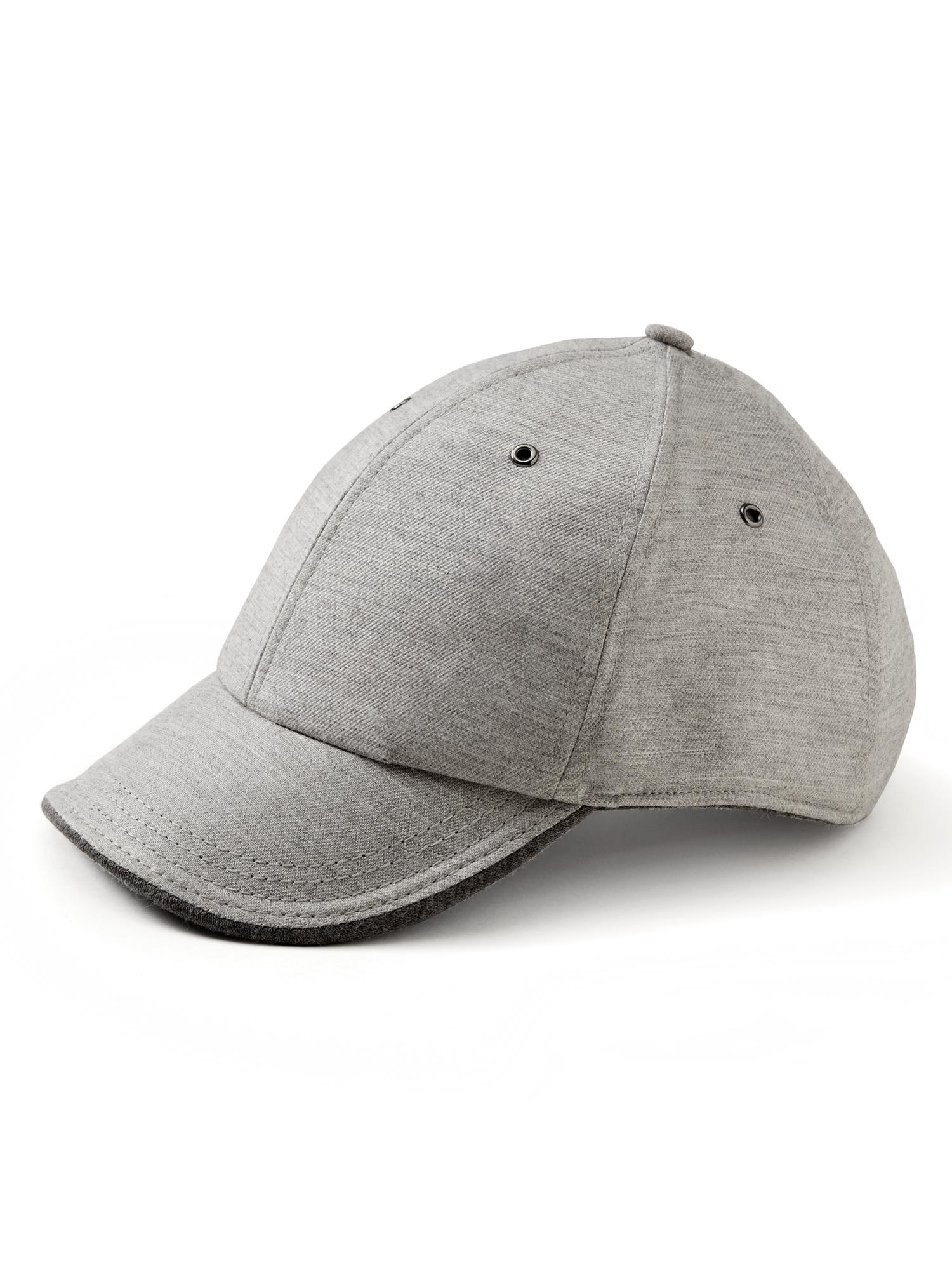 c7b9b7173 Lyst - Banana Republic Tipped Baseball Cap in Gray for Men