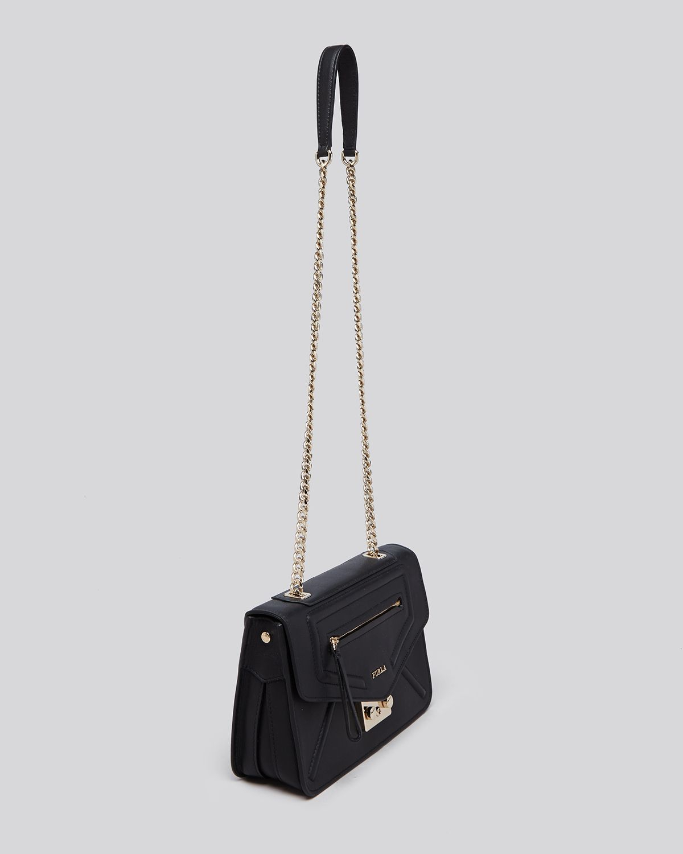 Lyst - Furla Shoulder Bag - Alice Small in Black 89a5ec670c408