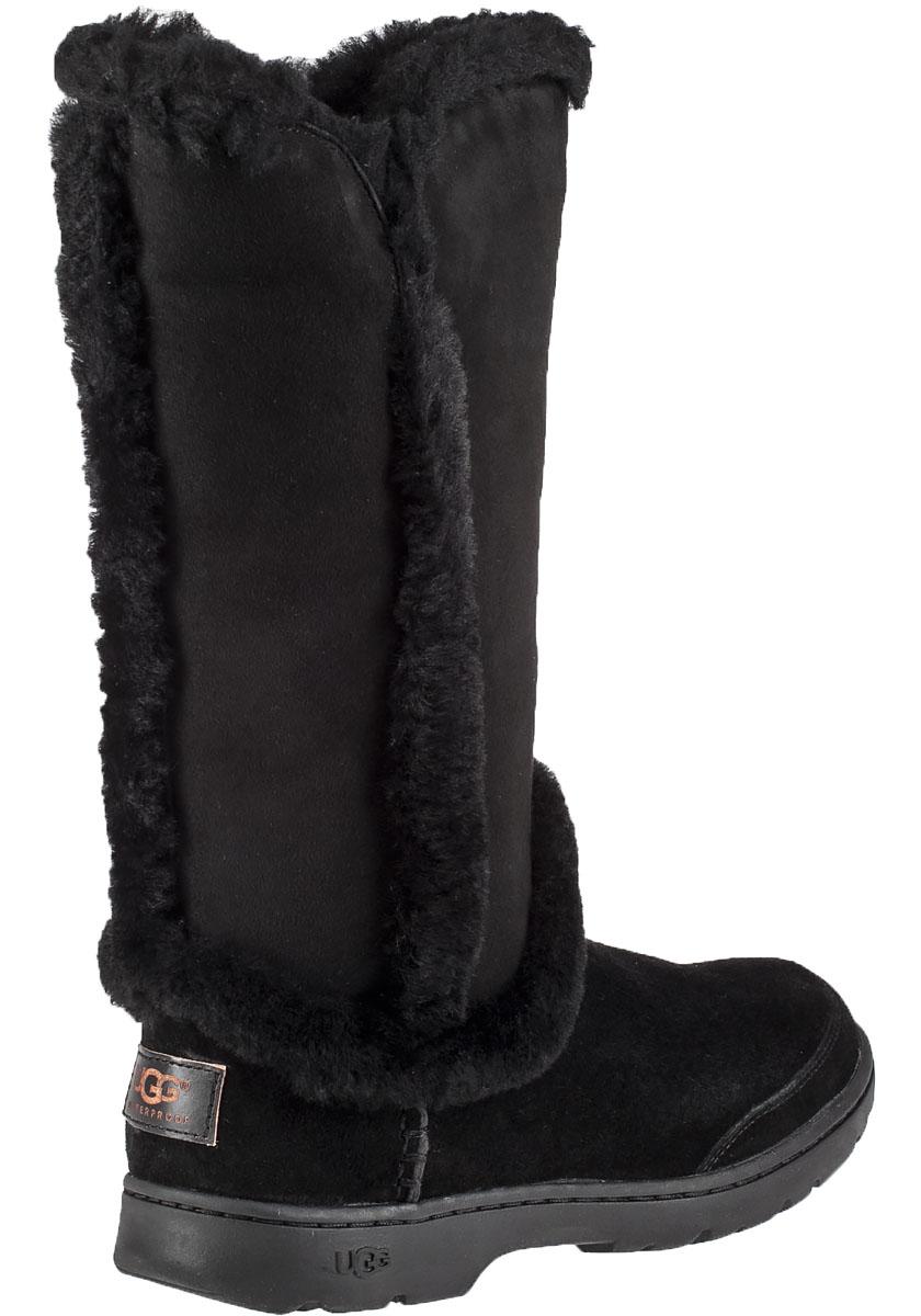 ugg katia waterproof suede boots in black lyst