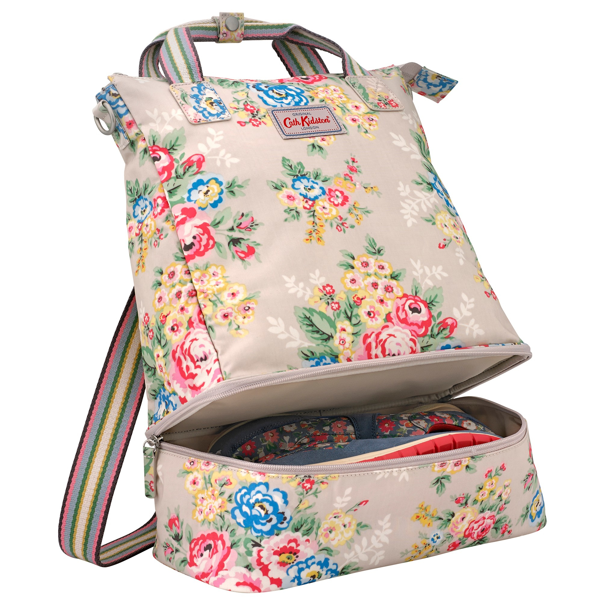 lyst cath kidston double decker backpack. Black Bedroom Furniture Sets. Home Design Ideas