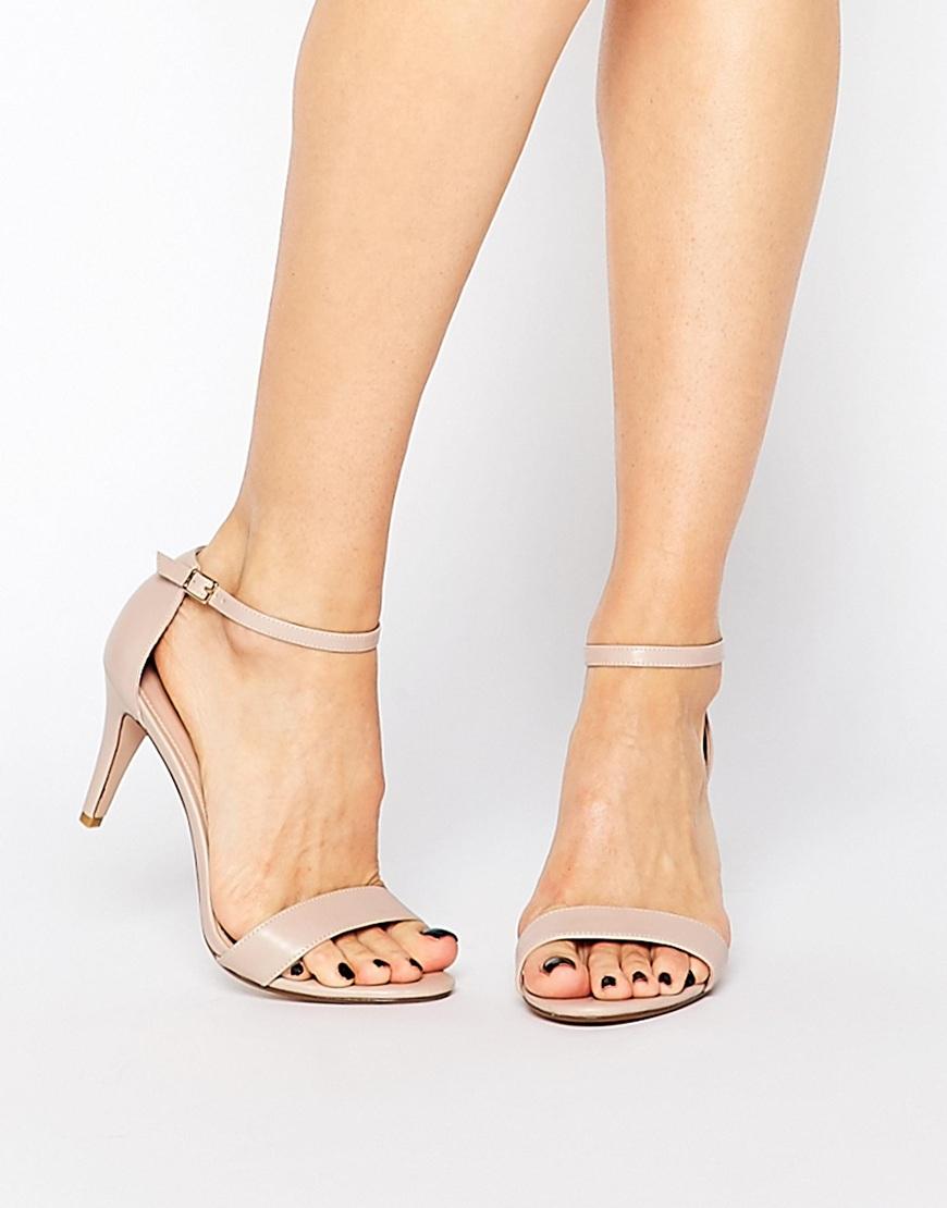 HAILSTONE Heeled Sandals - Silver Asos 6Z8RLu3tlJ