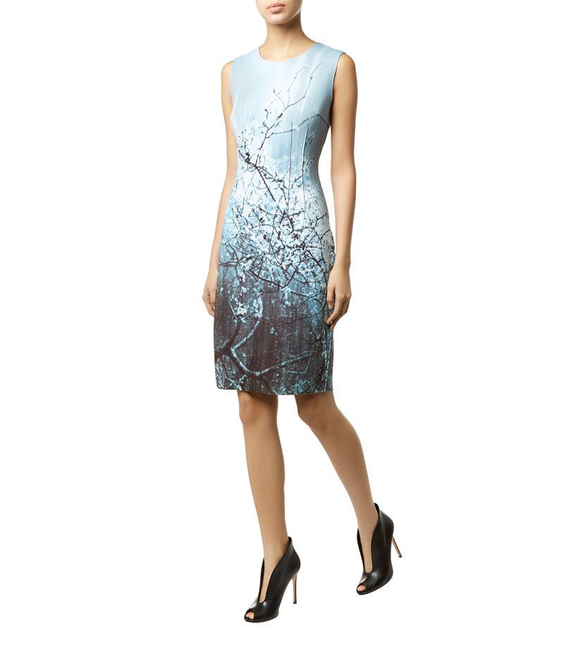 b48d2454a58e Elie Tahari Reversible Gwenyth Dress in Blue - Lyst