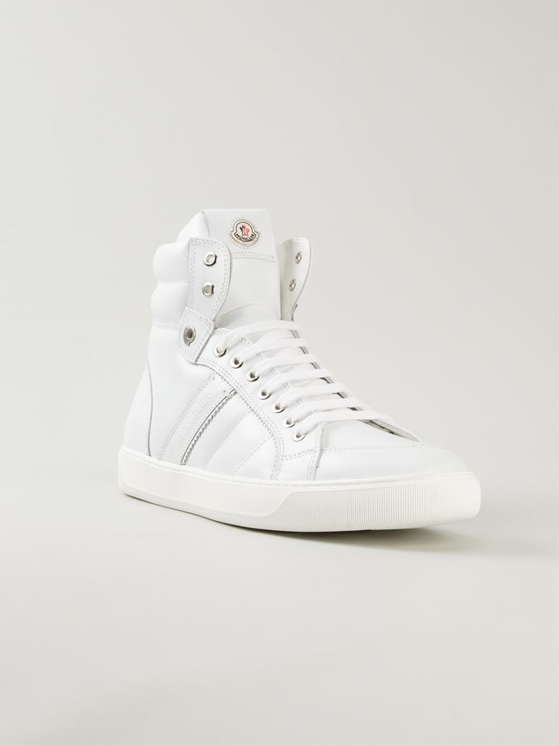 Lyon Leather High-top Sneakers