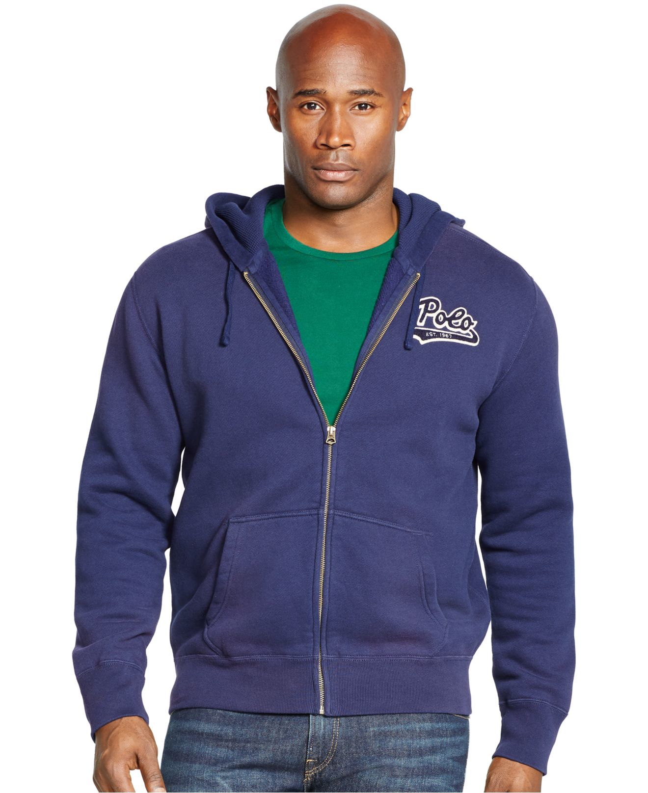 Lyst Polo Ralph Lauren Big And Tall Fleece Full Zip