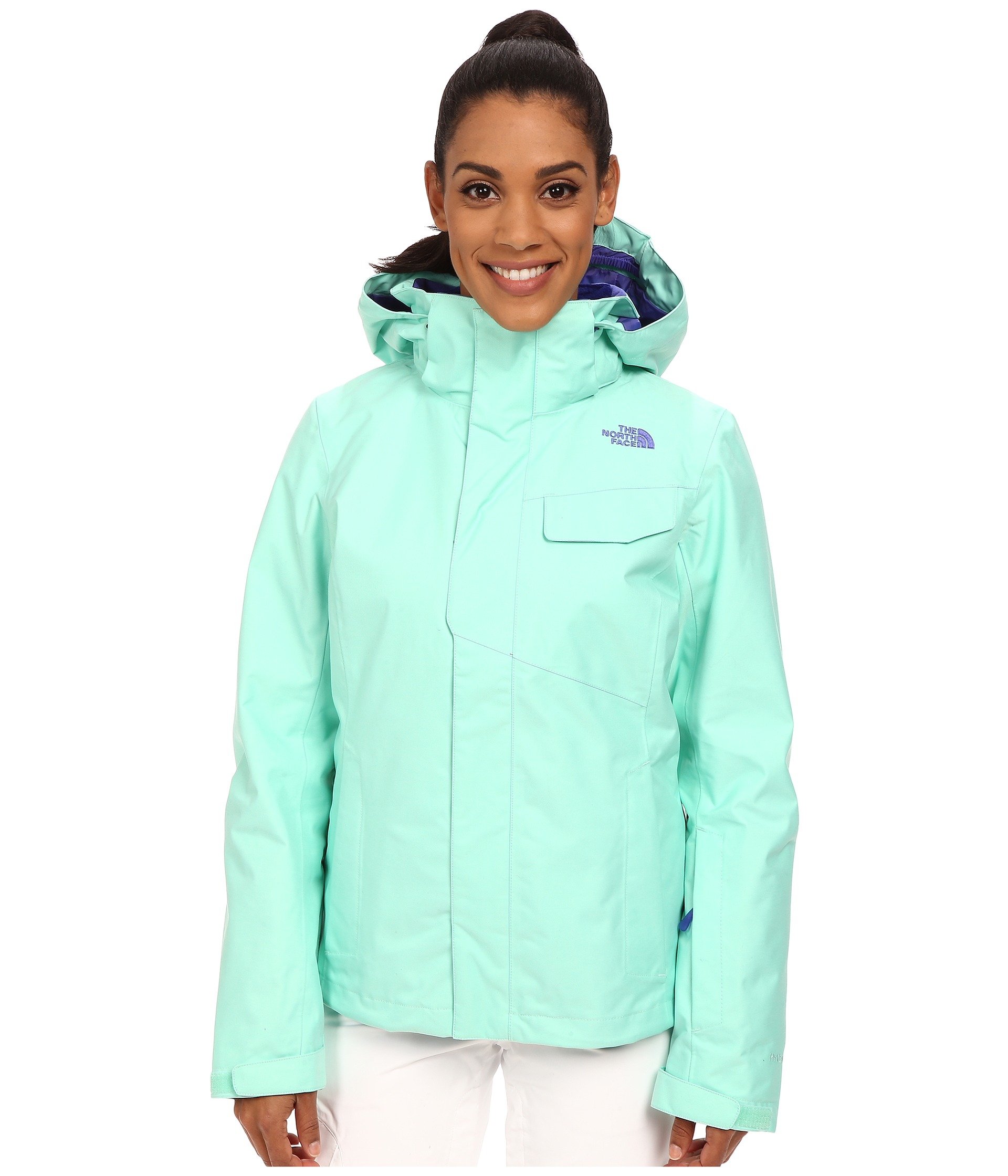 caac61a2a The North Face Green Helata Triclimate® Jacket