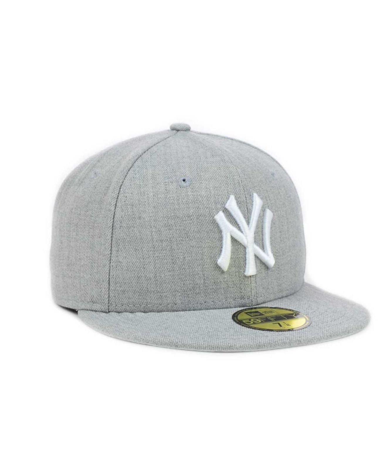 separation shoes 9ed22 4b42a KTZ New York Yankees Mlb Heather Basic 59Fifty Cap in Gray for Men ...