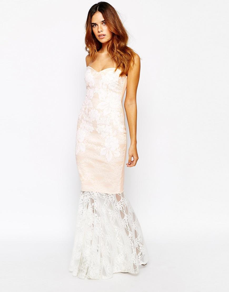 a10436c5 Turmec » lipsy bandage fishtail maxi dress